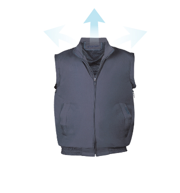 Cold Wind Vest A-Type [N-A2006(CF-IB1177)] Navy
