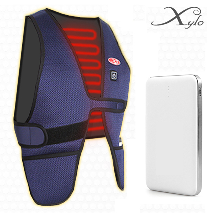 Xylo Heating Vest USB Thermal JC-3012N (Secondary Include Battery)