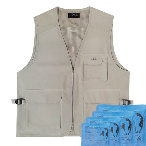 JC-1038 Gold type ice vest